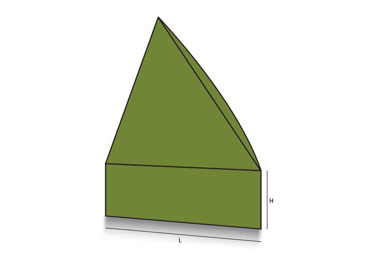 Triangular Tray Lid