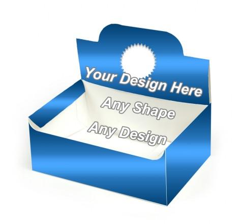 Die Cut - Auto Bottom Display Lid Boxes