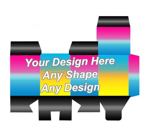 Full Color - Die cut Packaging Boxes