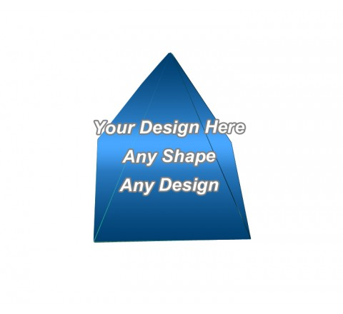 Gloss Laminated - Pyramid Shape Boxes