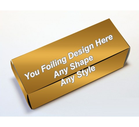 Golden Foiling - Golf Ball Boxes