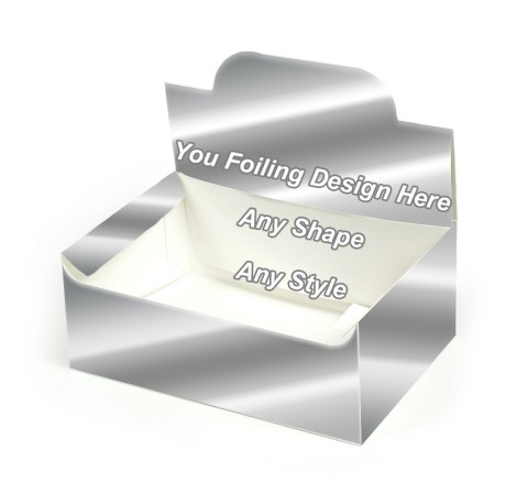 Silver Foiling - Pop up Display Boxes