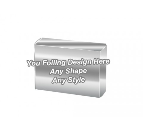 Silver Foiling - Soap Packaging Boxes