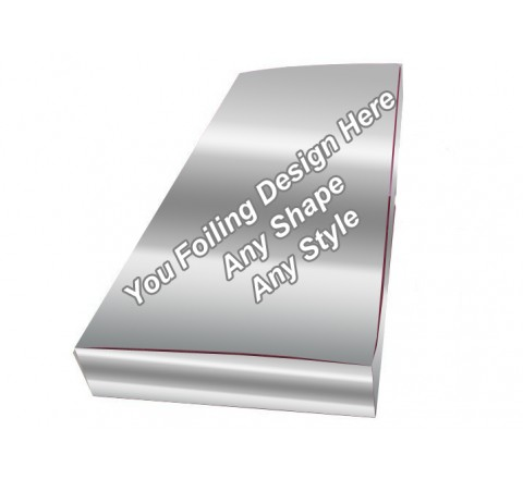 Silver Foiling - Foldable Hair Extension Boxes