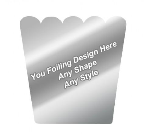 Silver Foiling - Pop Corn Boxes